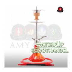 Amy deluxe waterpijp ss13r little stick transparant