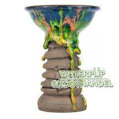 El Nefes - Rock Shamot Phunnel bowl Model Turquoise